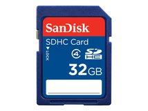 Standard - Flash-Speicherkarte - 32 GB - Class 4 - SDHC