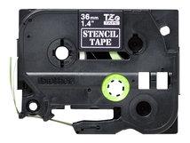 STe-161 - Schwarz - Rolle (3,6 cm x 3 m) 1 Rolle(n) Stempelband - für P-Touch PT-3600, PT-9200, PT-9500, PT-9600, PT-9700, PT-9800; P-Touch R RL-700