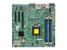 SUPERMICRO X10SLH-F - Motherboard - micro ATX - LGA1150-Sockel - C226 - USB 3.0