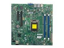 SUPERMICRO X10SLL-S - Motherboard - micro ATX - LGA1150-Sockel - C222 - 2 x Gigabit LAN