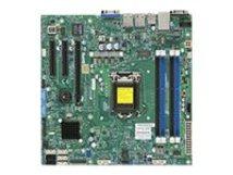 SUPERMICRO X10SLM-F - Motherboard - micro ATX - LGA1150-Sockel - C224 - USB 3.0