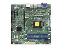 SUPERMICRO X10SLQ-L - Motherboard - micro ATX - LGA1150-Sockel - Q87 - USB 3.0