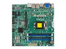 SUPERMICRO X10SLQ - Motherboard - micro ATX - LGA1150-Sockel - Q87 - USB 3.0