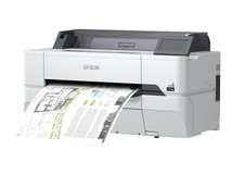"SureColor SC-T3400N - 610 mm (24"") Großformatdrucker - Farbe - Tintenstrahl - Rolle A1 (61,0 cm) - 2400 x 1200 dpi"