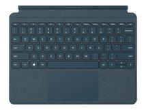 Surface Go Signature Type Cover - Tastatur - mit Trackpad, Beschleunigungsmesser - hinterleuchtet - Deutsch - kobaltblau