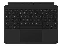 Surface Go Type Cover - Tastatur - mit Trackpad, Beschleunigungsmesser - hinterleuchtet - Deutsch - Schwarz
