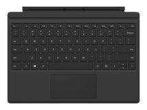 Surface Pro Type Cover (M1725) - Tastatur - mit Trackpad, Beschleunigungsmesser - Deutsch - Schwarz - kommerziell
