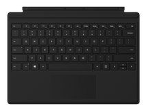 Surface Pro Type Cover with Fingerprint ID - Tastatur - mit Trackpad, Beschleunigungsmesser - hinterleuchtet - Deutsch - Schwarz