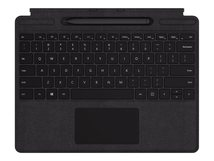 Surface Pro X Signature Keyboard with Slim Pen Bundle - Tastatur - mit Trackpad - hinterleuchtet - Deutsch - Schwarz