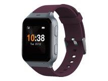 TCL Safety Watch MT43AX - Intelligente Uhr mit Band - dark red - 4 GB - Bluetooth - 4G