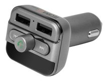 Technaxx FMT900BT - Bluetooth-Freihand/FM-Sender/Ladegerät für Handy, Tablet