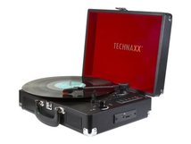 Technaxx TX-101 - Plattenspieler mit Digital-Recorder 1 Watt - Schwarz