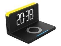 TERRATEC ChargeAir clock! - Induktive Ladematte - 10 Watt (USB)