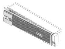 ThinkSystem v2 - Server-Sicherheitsblende - Vorderseite - 2U - für ThinkSystem SR665 7D2V, 7D2W; SR850 V2 7D32