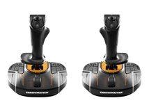 ThrustMaster T.16000M FCS Space Sim Duo - Joystick - 16 Tasten - kabelgebunden (Packung mit 2)