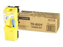 TK 820Y - Gelb - Original - Tonerpatrone - für FS-C8100DN