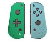Twin Pads - Game Pad - kabellos - Blau, grün (Packung mit 2) - für Nintendo Switch