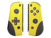 Twin Pads - Game Pad - kabellos - Gelb (Packung mit 2) - für Nintendo Switch