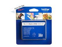TZe-231S - Schwarz auf Weiß - Rolle (1,2 cm x 4 m) 1 Kassette(n) laminiertes Band - für Brother PT-D210, D600, H110, H200; P-Touch PT-D450, H107, H200; P-Touch Cube Plus PT-P710