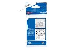 TZe-R251 - Seidig - Schwarz auf Weiß - Rolle (2,4 cm x 4 m) 1 Rolle(n) Band - für Brother PT-D600; P-Touch PT-E800; P-Touch Cube Plus PT-P710; P-Touch Cube Pro PT-P910