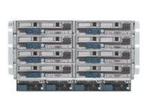 UCS 5108 Blade Server Chassis SmartPlay Select - Rack - einbaufähig - 6U - bis zu 8 Blades - Stromversorgung Hot-Plug 2500 Watt