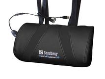USB Massage Pillow, Schwarz, 400 mm, 200 mm, 1,6 kg