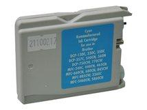 V7 - Cyan - compatible - wiederaufbereitet - Tintenpatrone (Alternative zu: Brother LC1000C) - für Brother DCP-350, 353, 357, 560, 750, 770, MFC-3360, 465, 5460, 5860, 660, 680, 845, 885
