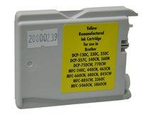 V7 - Gelb - compatible - OEM - wiederaufbereitet - Tintenpatrone (Alternative zu: Brother LC1000Y)