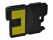V7 - Gelb - compatible - wiederaufbereitet - Tintenpatrone - für Brother DCP-145, 163, 167, 193, 195, 197, 365, 373, 375, 377, MFC-250, 255, 290, 295, 297
