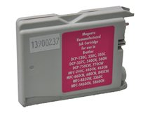 V7 - Magenta - compatible - wiederaufbereitet - Tintenpatrone (Alternative zu: Brother LC1000m) - für Brother DCP-350, 353, 357, 560, 750, 770, MFC-3360, 465, 5460, 5860, 660, 680, 845, 885