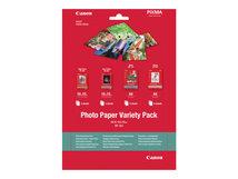Variety Pack VP-101 - 20 Blatt Fotopapier-Kit - für PIXMA MG2550, MG3550, MG3650, MG5750, MG5751, MG6450, MG6850, MG7150, MG7750, MG7751