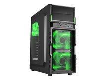 VG5-W - Midi Tower - ATX - ohne Netzteil - grün - USB/Audio