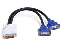 - VGA-Kabel - HD-15 (VGA) (M) bis DVI-I (M)