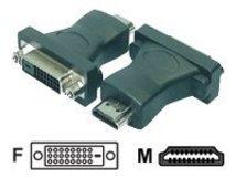 - Videoanschluß - Dual Link - HDMI (M) bis DVI-D (W) - Schwarz