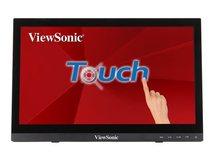 "ViewSonic - LED-Monitor - 40.6 cm (16"") (15.6"" sichtbar) - Touchscreen - 1366 x 768 - TN"