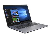 "VivoBook 17 X705UA-BX840 - Pentium Gold 4417U / 2.3 GHz - Endless OS - 4 GB RAM - 256 GB SSD - 43.9 cm (17.3"") 1600 x 900 (HD+)"
