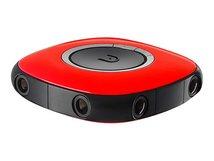 Vuze VR Camera - 360° Action-Kamera - 3D - 4K / 30 BpS - Wi-Fi - Rot