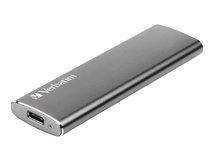 Vx500 - Solid-State-Disk - 120 GB - extern (tragbar) - USB 3.1 Gen 2 (USB-C Steckverbinder) - Space-grau