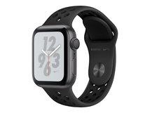 Watch Nike+ Series 4 (GPS) - 40 mm - Weltraum grau Aluminium - intelligente Uhr mit Nike Sportband - Flouroelastomer - anthrazit/schwarz