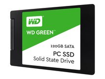 "WD Green SSD WDS120G2G0A - Solid-State-Disk - 120 GB - intern - 2.5"" (6.4 cm) - SATA 6Gb/s"