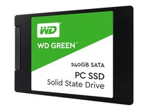 "WD Green SSD WDS240G2G0A - Solid-State-Disk - 240 GB - intern - 2.5"" (6.4 cm) - SATA 6Gb/s"