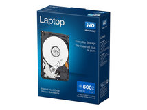 "WD Laptop Mainstream WDBMYH5000ANC - Festplatte - 500 GB - intern - 2.5"" (6.4 cm) - SATA 3Gb/s"