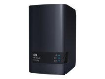 WD My Cloud EX2 Ultra WDBVBZ0060JCH - Gerät für persönlichen Cloudspeicher - 2 Schächte - 6 TB - HDD 3 TB x 2 - RAID 0, 1, JBOD