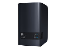 WD My Cloud EX2 Ultra WDBVBZ0080JCH - Gerät für persönlichen Cloudspeicher - 2 Schächte - 8 TB - HDD 4 TB x 2 - RAID 0, 1, JBOD