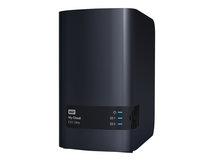 WD My Cloud EX2 Ultra WDBVBZ0120JCH - Gerät für persönlichen Cloudspeicher - 2 Schächte - 12 TB - HDD 6 TB x 2 - RAID 0, 1, JBOD