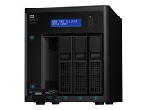 WD My Cloud EX4100 WDBWZE0000NBK - NAS-Server - 4 Schächte - RAID 0, 1, 5, 10, JBOD, 5 Hot Spare - RAM 2 GB - Gigabit Ethernet