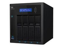 WD My Cloud PR4100 WDBNFA0000NBK - NAS-Server - 4 Schächte - RAID 0, 1, 5, 10, JBOD - RAM 4 GB - Gigabit Ethernet