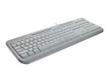 Wired Keyboard 600 - Tastatur - USB - Deutsch - weiß