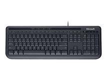 Wired Keyboard 600 - Tastatur - USB - Englisch - Schwarz
