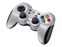 Wireless Gamepad F710 - Game Pad - 10 Tasten - kabellos - 2.4 GHz - für PC